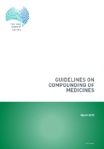 compounding chemist guidelines
